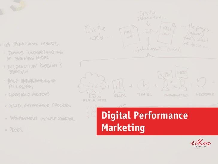 Digital PerformanceMarketing