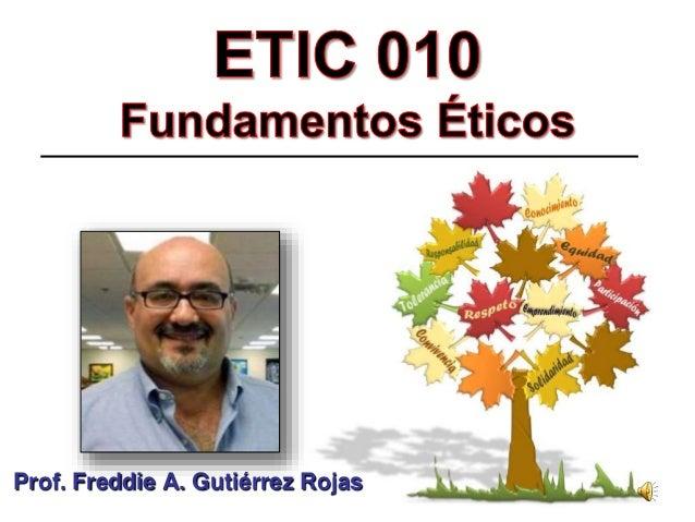 Prof. Freddie A. Gutiérrez Rojas