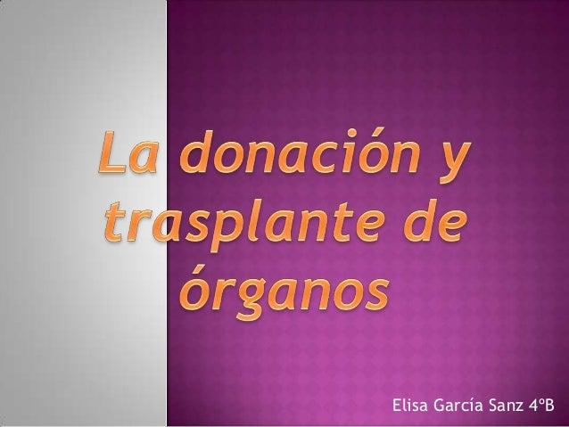Elisa García Sanz 4ºB