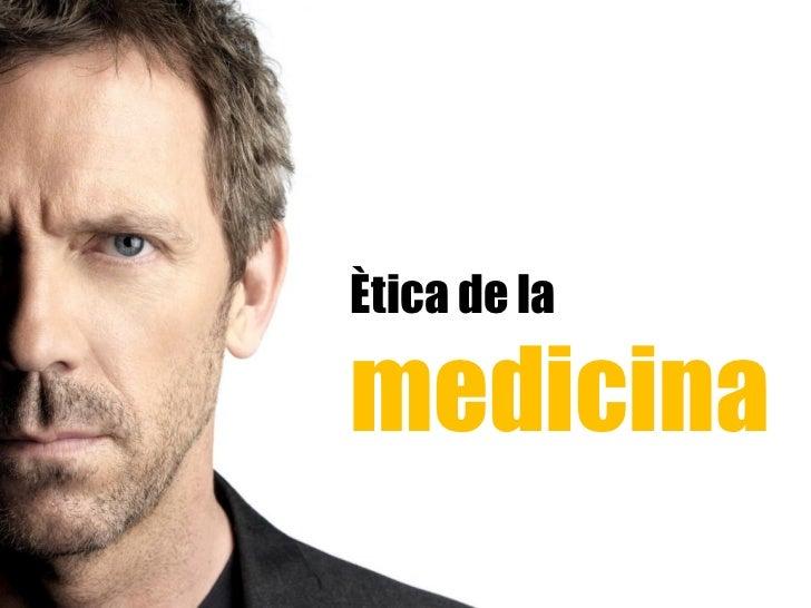 Etica medicina