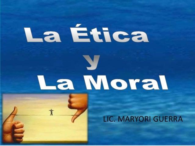 LIC. MARYORI GUERRA