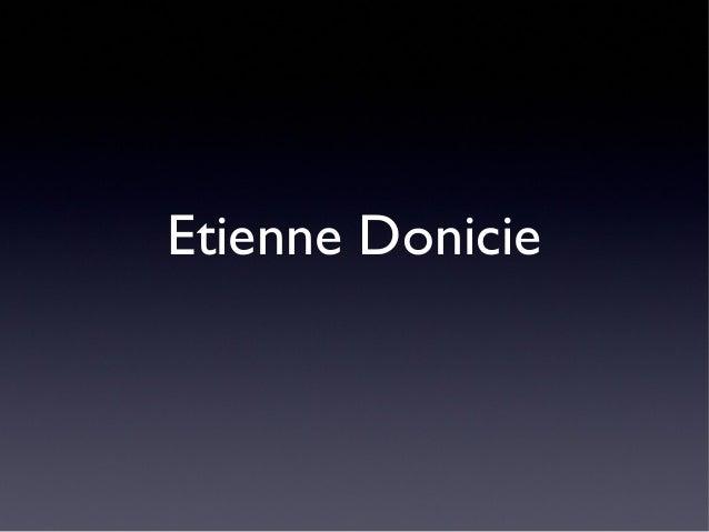 Etienne Donicie