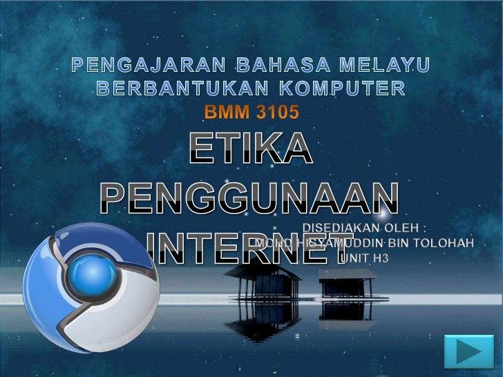 Penggunaan internet yang semakin  meningkat,           digabungkan dengan teknologi yang terkini serta pengurangan masa da...
