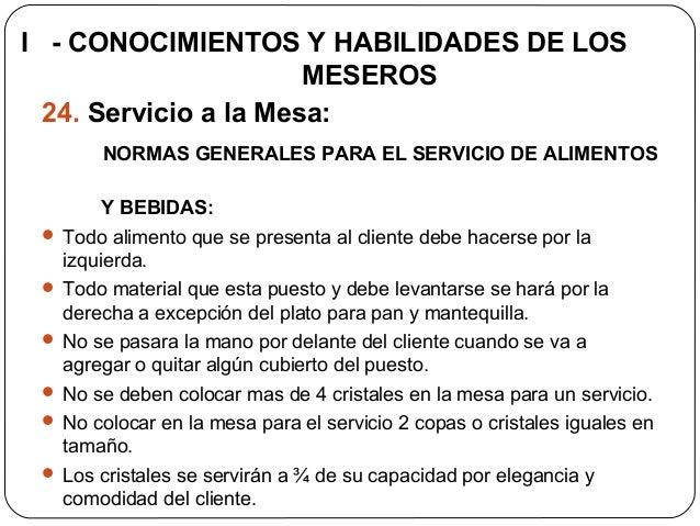 Etiqueta protocolo y servicio para meseros servihoteles for Manual de procedimientos de alimentos y bebidas de un hotel