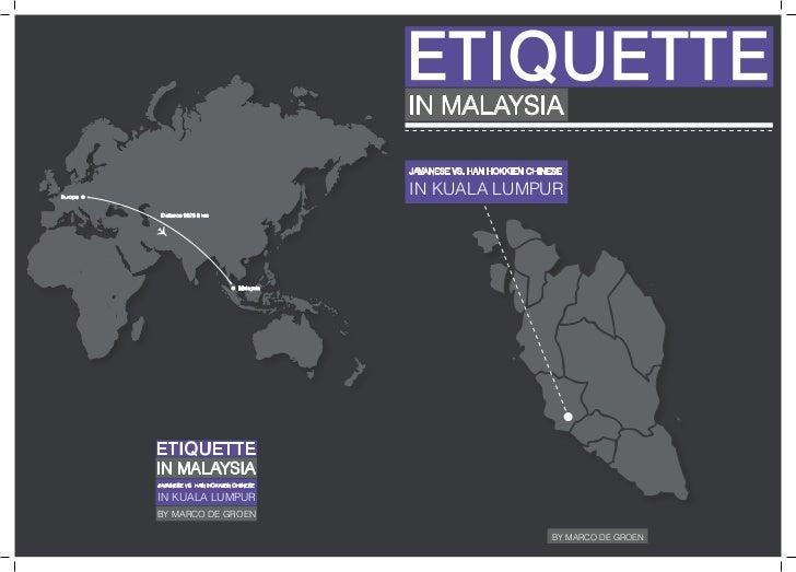Etiquette Malaysia part 2