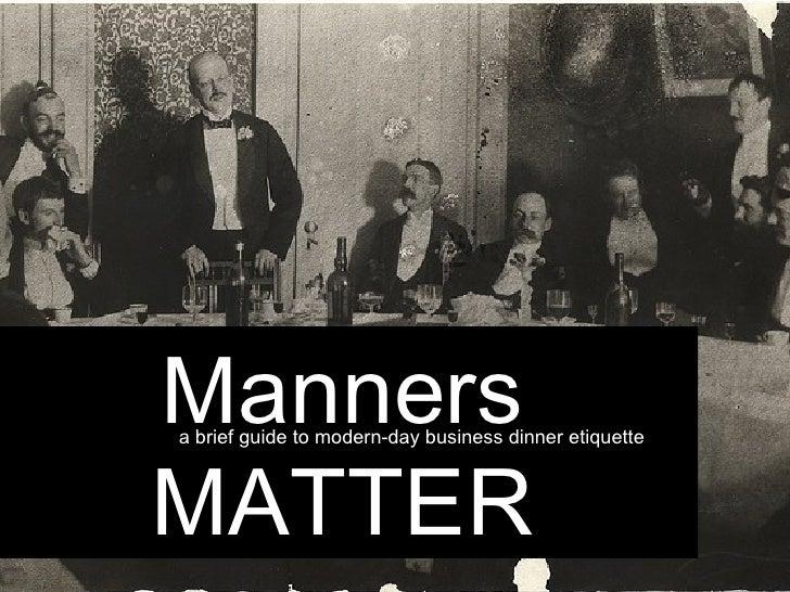 Manners Matter Quote Manners Matter Mannersa Brief