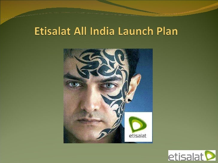 Etisalat All India Launch Plan