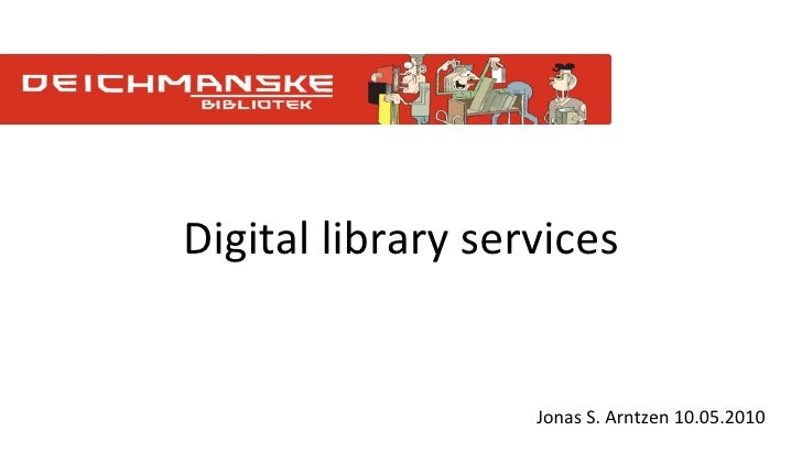 Digital library services