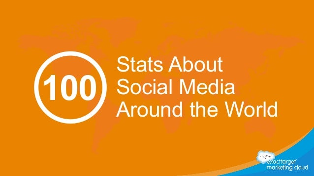 Stats About  Social Media  Around the World 100