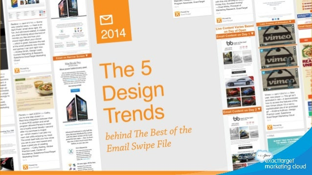 The 5 Trends Behind the 2014 Best of the Email Swipe File