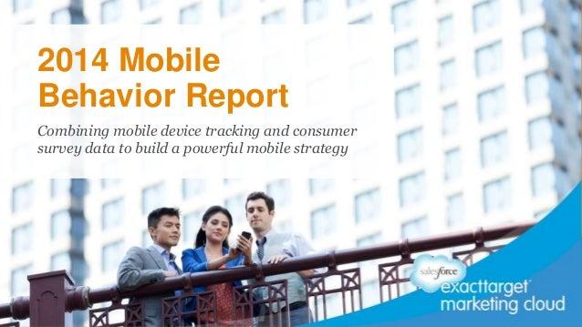 2014 Mobile Behavior Report