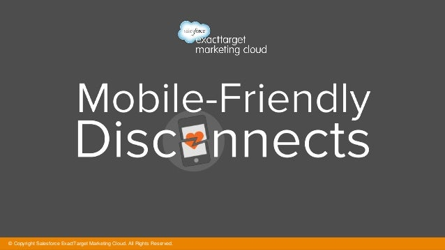 Mobile-Friendly Disconnects #Infographic