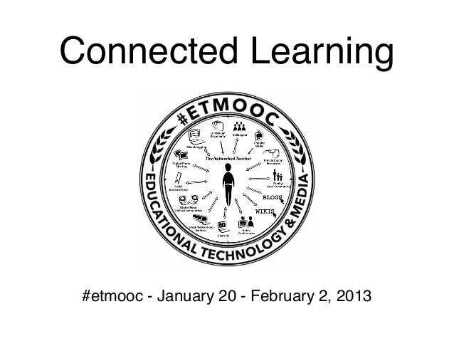 #Etmooc connected learning