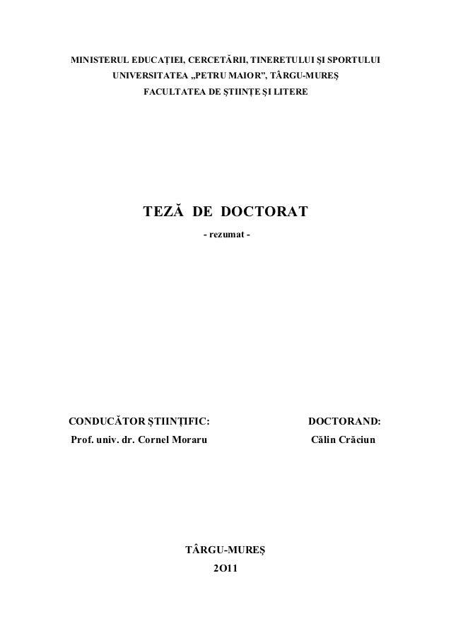 Etnocitica  -rezumat