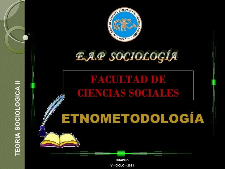 Etnometodologia (grupal)