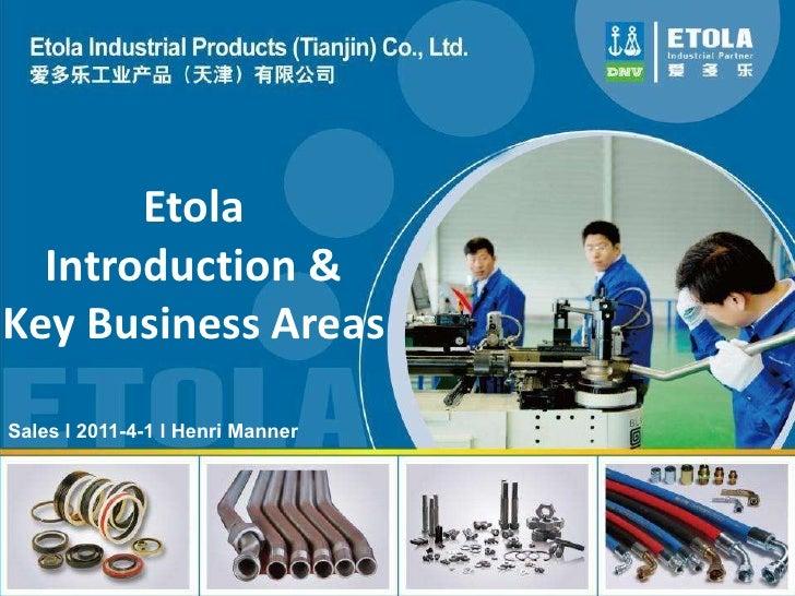 Etola products henri manner 2011 v.2