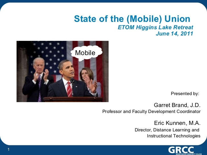 ETOM 2011 - State of the (Mobile) Union
