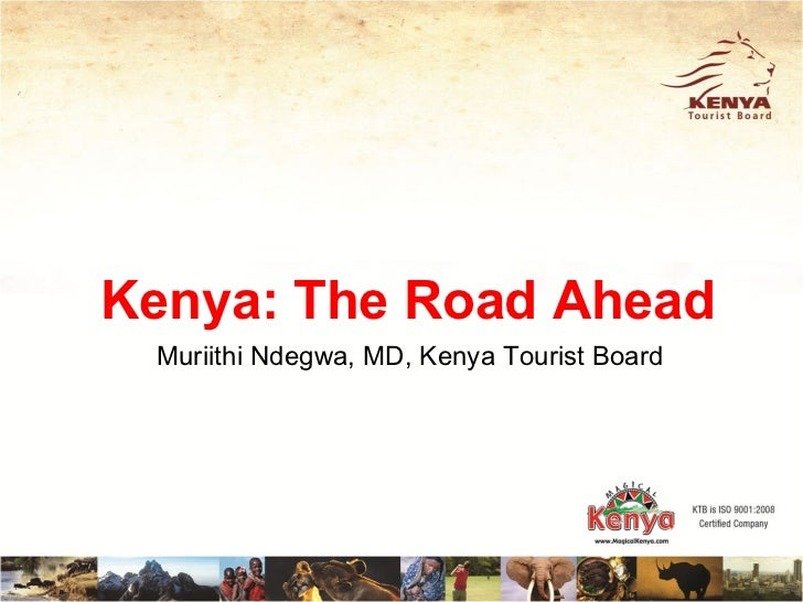 Kenya Tourist Board 2012