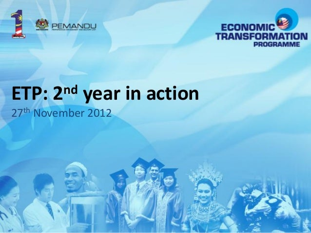 ETP: 2nd year in action27th November 2012