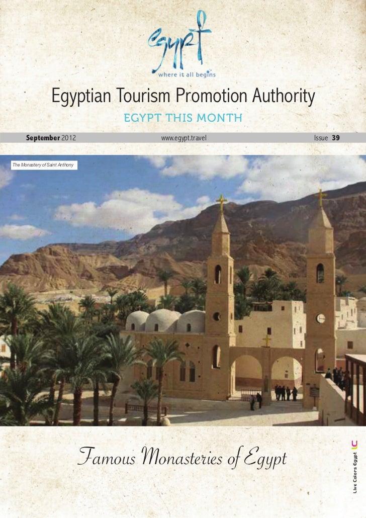 Newsletter of Egypt Tourism September 2012