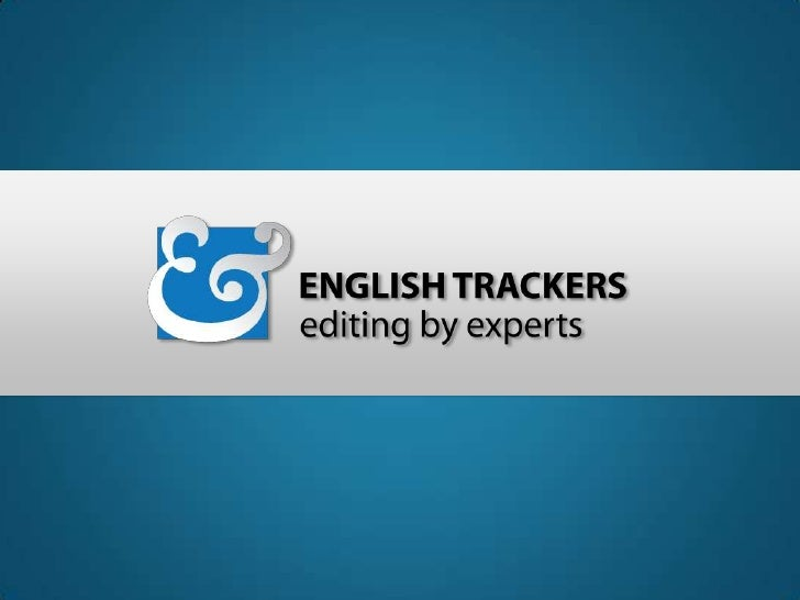 WE  PROVIDEPROFESSIONALENGLISH EDITINGSERVICES