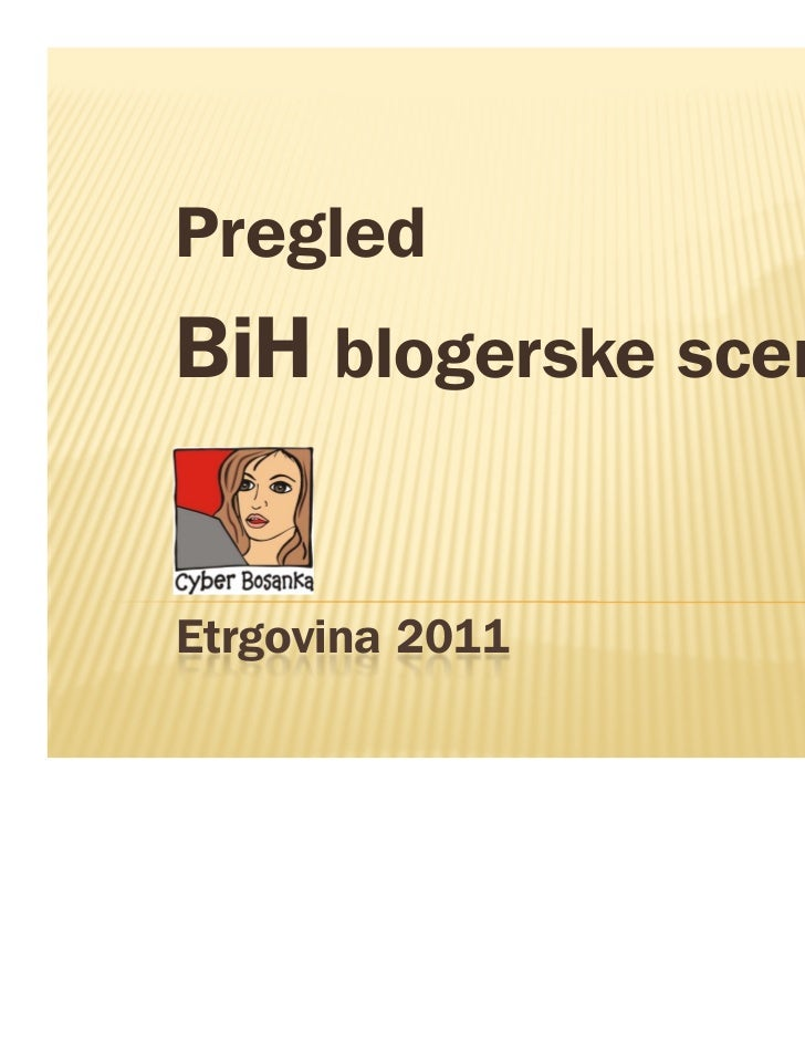 Cyberbosanka Etrgovina 2011
