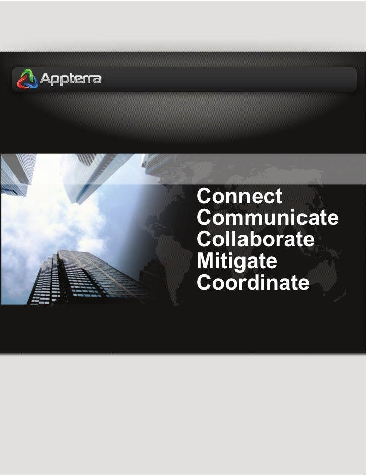 ConnectCommunicateCollaborateMitigateCoordinate