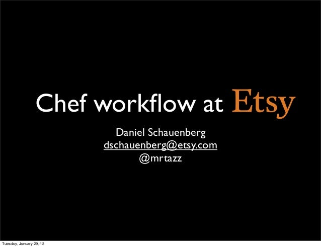 Etsy chef-workflow