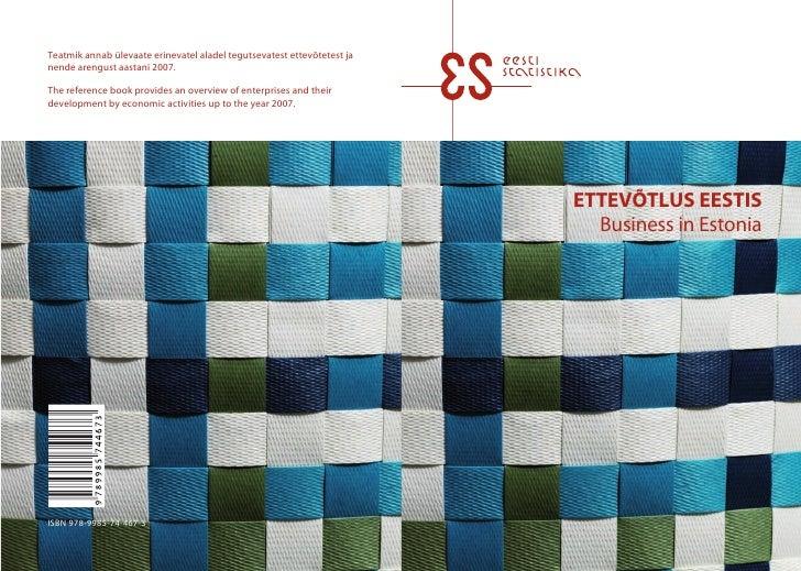 Ettevõtlus Eestis / Business in Estonia