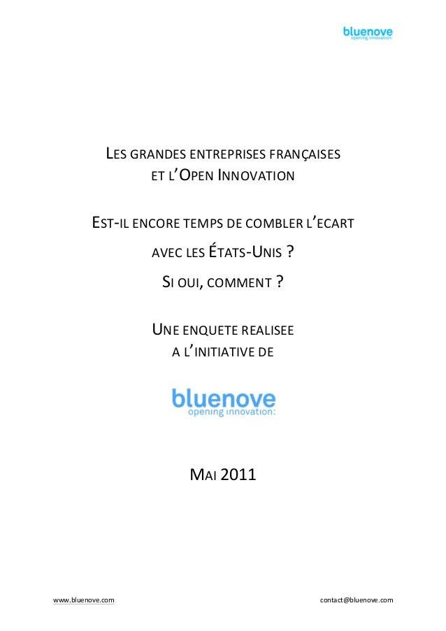 www.bluenove.com      contact@bluenove.com            LES  GRANDES  ENTREPRISES  FRANÇAISES...