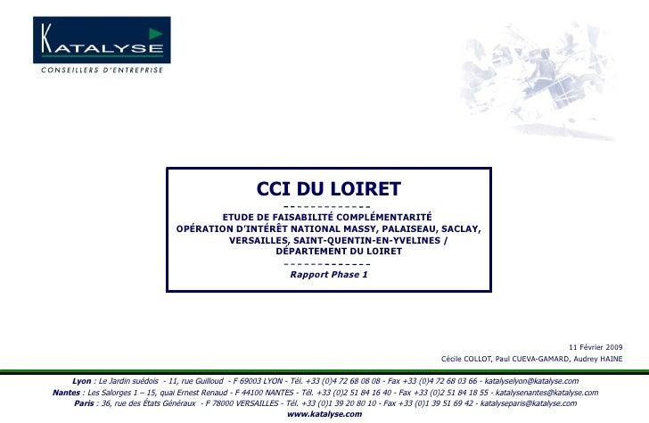 Etude Complète Loiret OIN Phase 1.