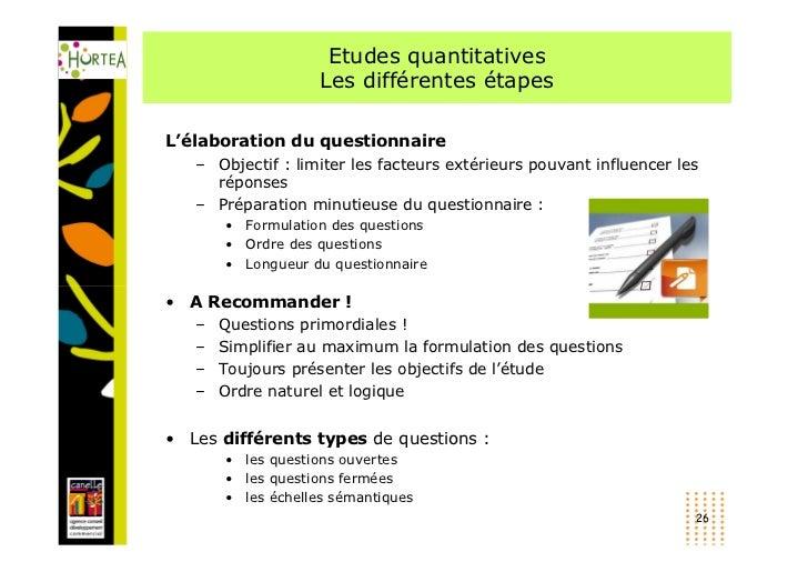 Etude Qualitative Ou Qualitative