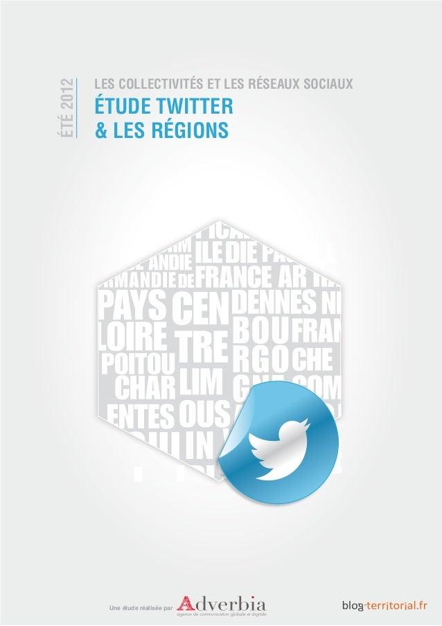 Etude Twitter et les regions