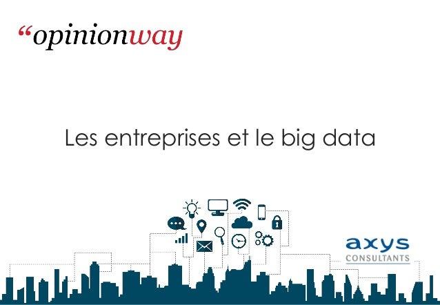 Les entreprises et le big data
