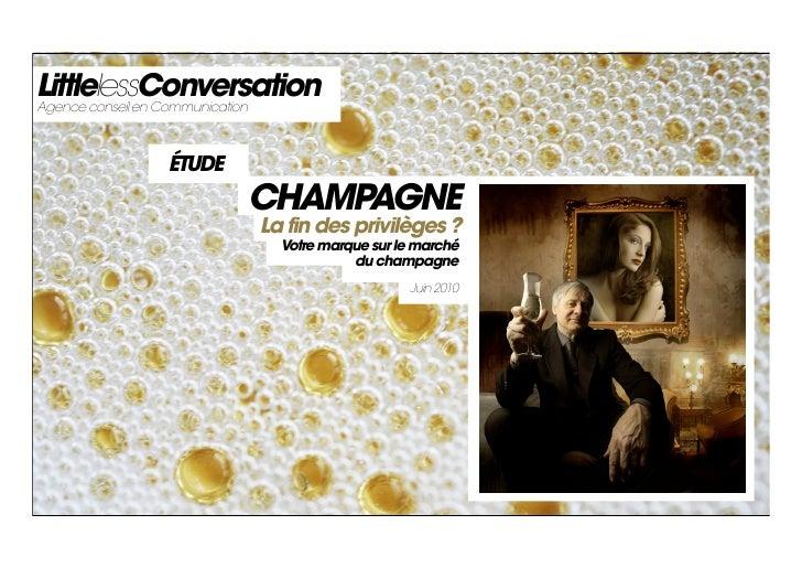 Le Champagne Postcrise