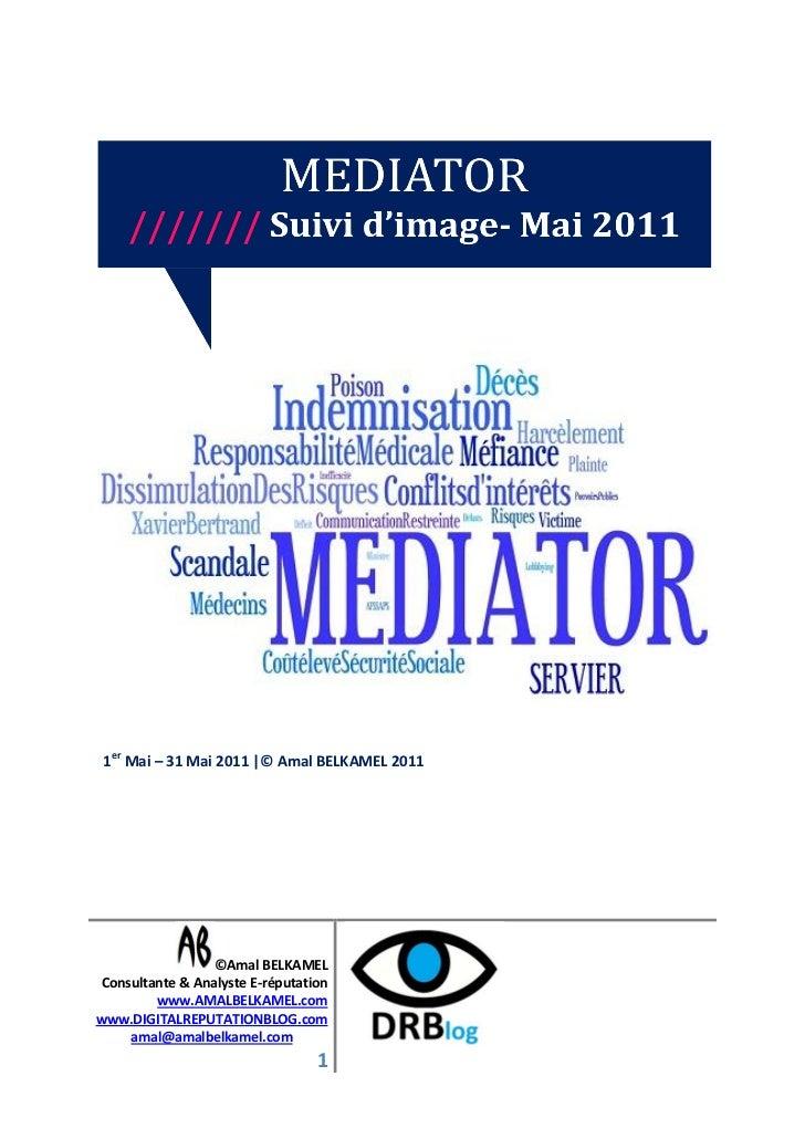 Etude e réputation- suivi mediator- mai2011