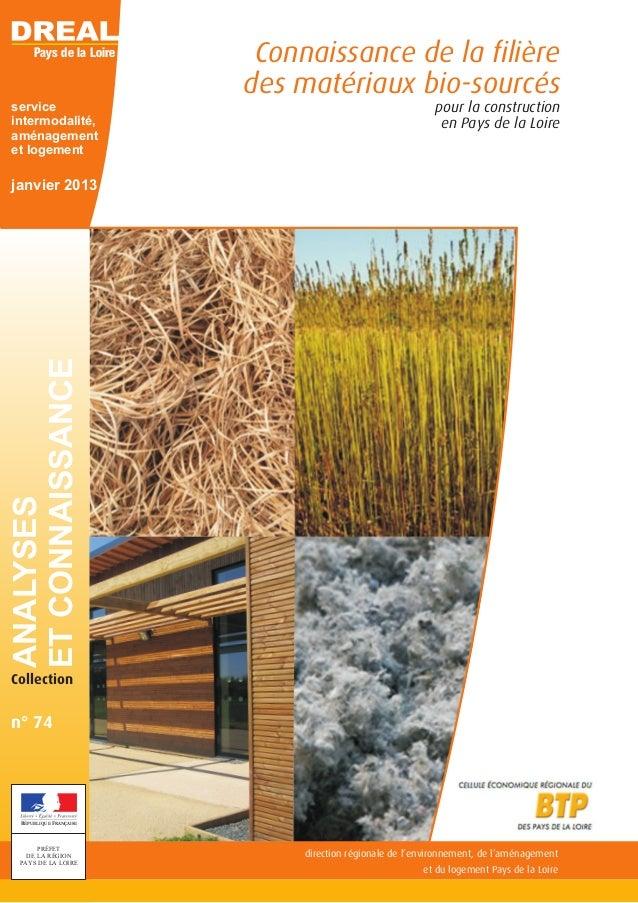 direction régionale de l'environnement, de l'aménagement et du logement Pays de la Loire Pays de la Loire RÉPUBLIQUE FRANÇ...