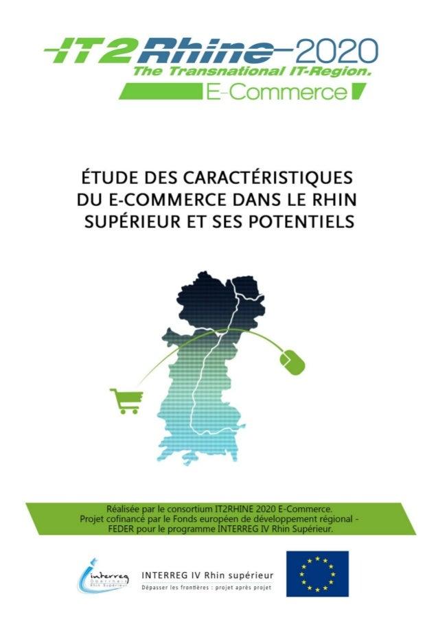 © Consortium IT2RHINE 2020 E-Commerce  [1]