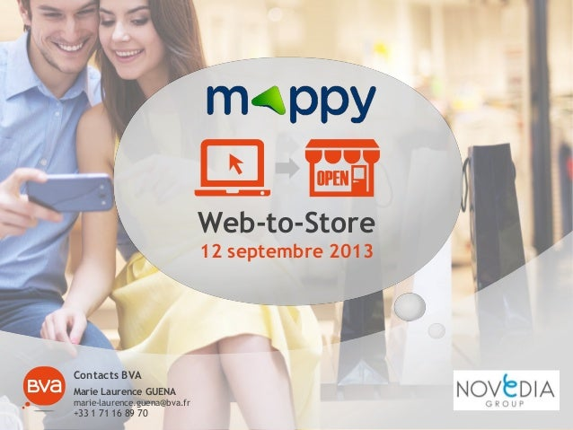 Etude mappy bva  web to store - 12092013