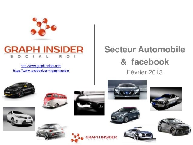 Secteur Automobile      http://www.graphinsider.com                                           & facebookhttps://www.facebo...