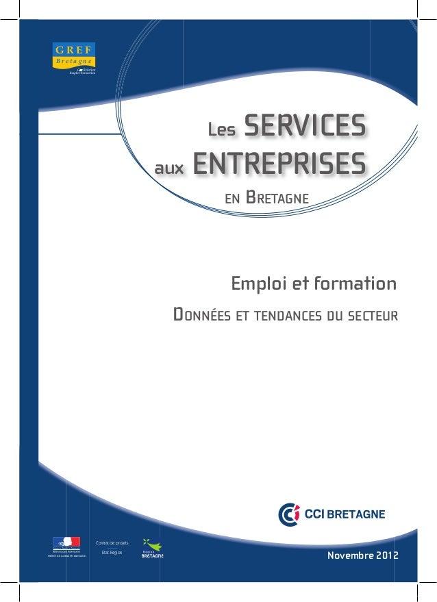 Etude services aux entreprises 2012