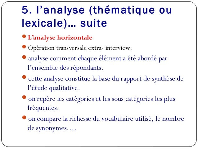 Etudes qualitatives vf1