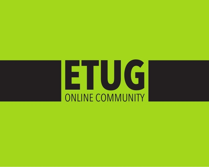 ETUGONLINE COMMUNITY