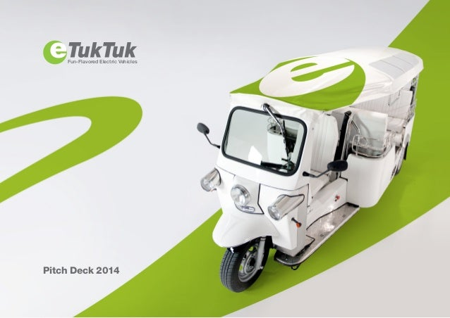 Fun-Flavored Electric Vehicles Pitch Deck 2014