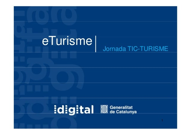 eTurisme   jornada TIC-TURISME
