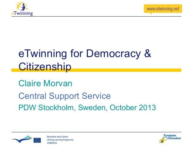 E twin democracy_sweden_claire