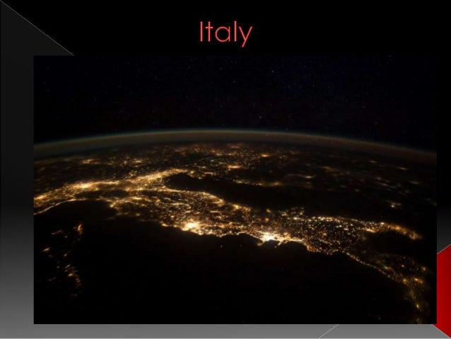Presentation of Italy