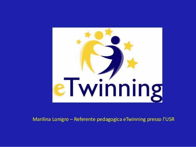Marilina Lonigro – Referente pedagogica eTwinning presso l'USR