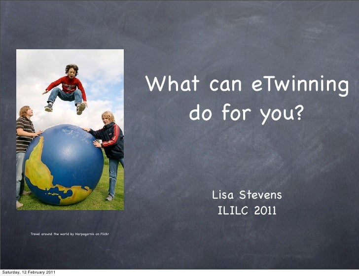 What can eTwinning  do for you? # ililc