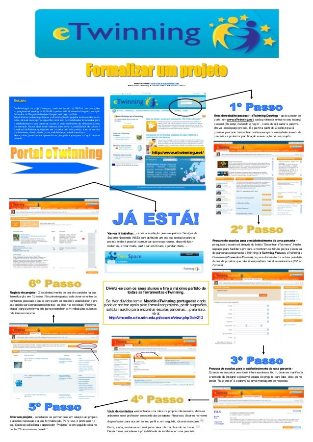 Formalizar um projeto eTwinning